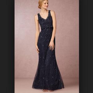 Adrianna Papell Brooklyn Dress navy Bridesmaid